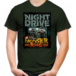 T-Shirt MONSTER ROAD NIGTH DRIVE