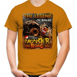 "T-Shirt MONSTER ROAD ""THE LEGEND OF DAKAR"""